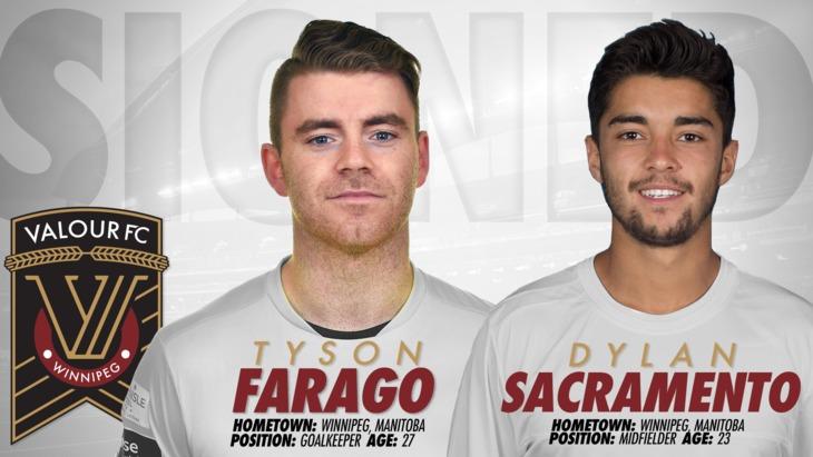 c6e028e2e8a5c7 Valour FC Sign goalkeeper Tyson Farago and midfielder Dylan Sacramento –  Valour FC