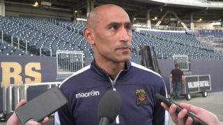 Coach Gale and Marco Bustos   Pre-Match Press Conference – Valour FC