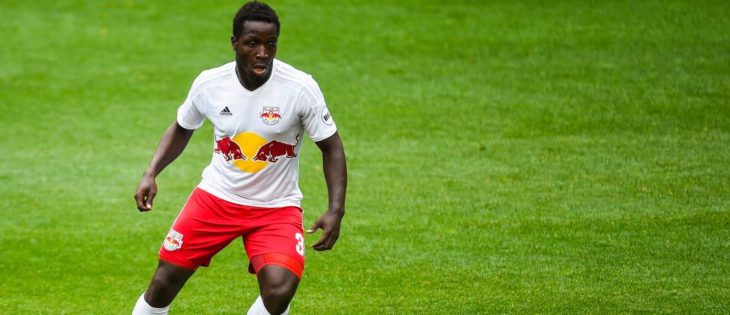 Andrew Jean-Baptiste with New York Red Bulls (www.newyorkredbulls.com)