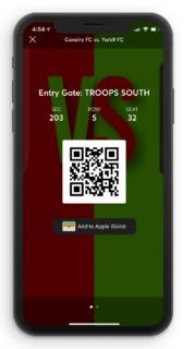Ticket Barcode