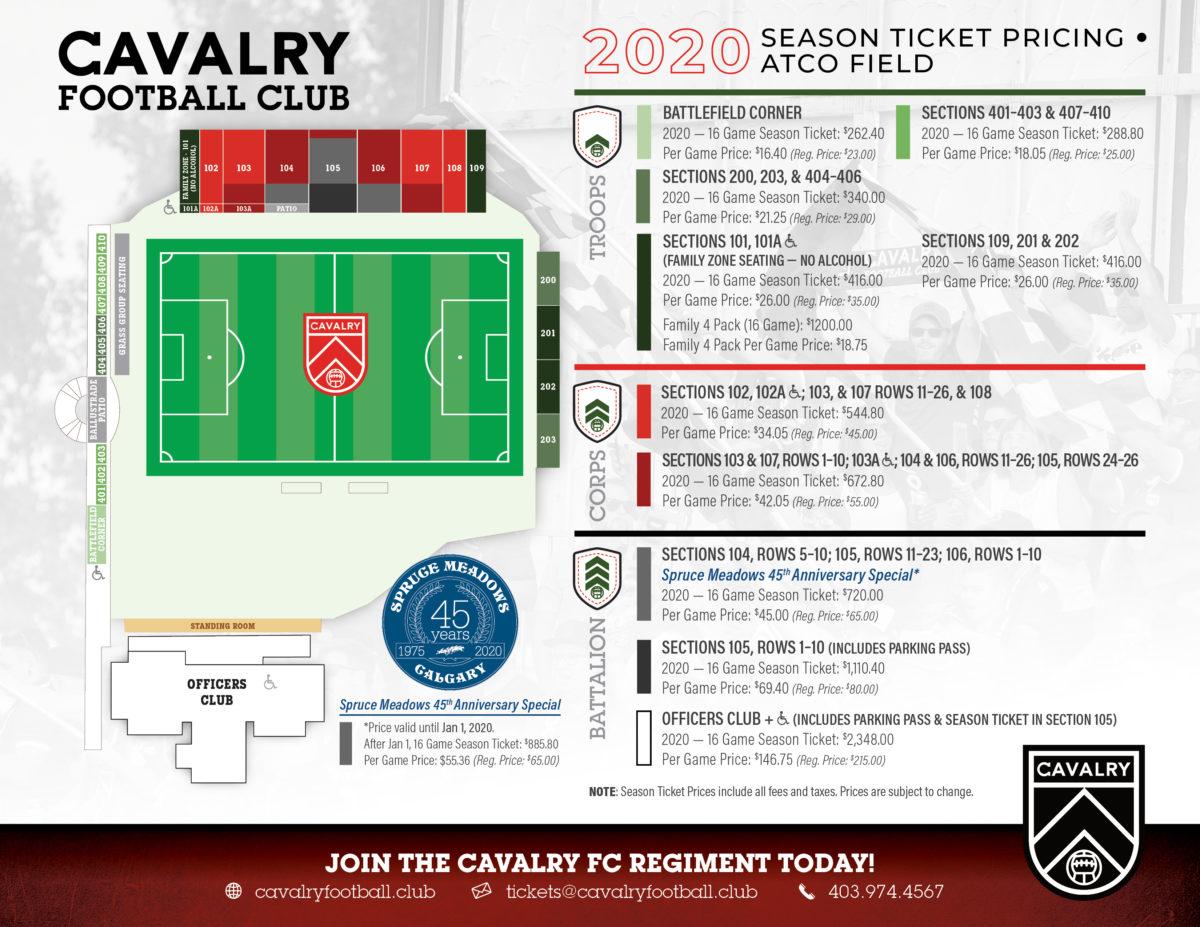 2020 Season Non-Member Ticketing Fact Sheet