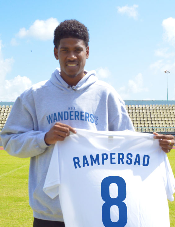 Andre Rampersad is expected to bring drive and energy to the midfield.
