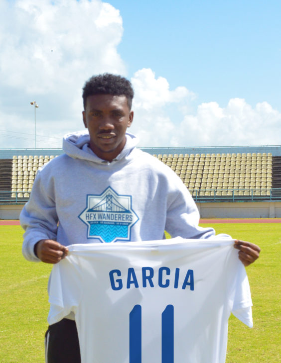 Akeem Garcia has represented Trinidad and Tobago at youth and senior levels and joins the Wanderers after being part of a winning FC Santa Rosa team.