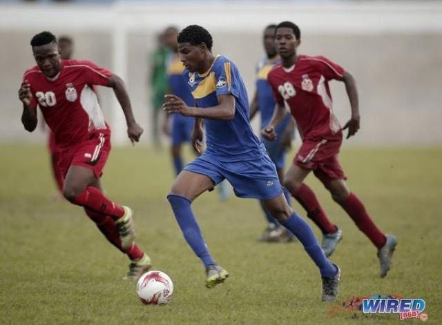 Andre playing for FC Santa Rosa in Trinidad & Tobago - Credits to Wired868