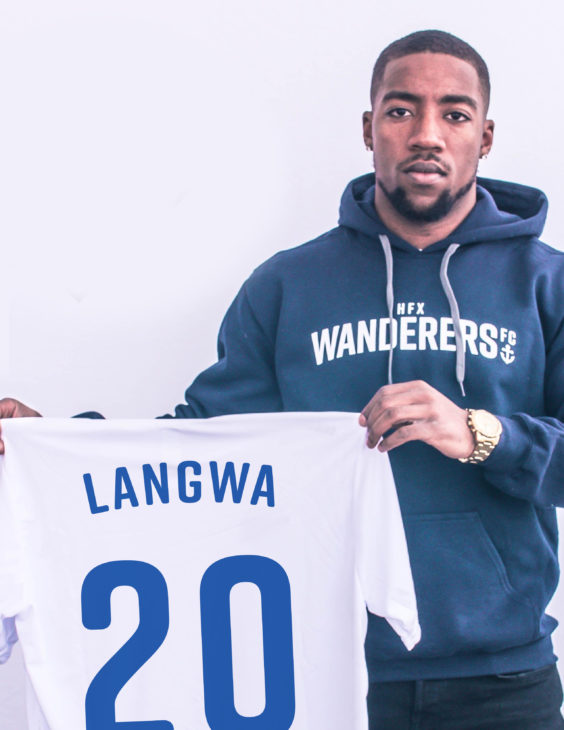 Langwa has been part of the youth systems of Toronto FC, Vancouver Whitecaps and Ottawa Fury.