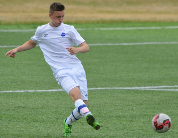 Scott playing for Team Nova Scotia at the Canada Games held in Winnipeg early August 2017