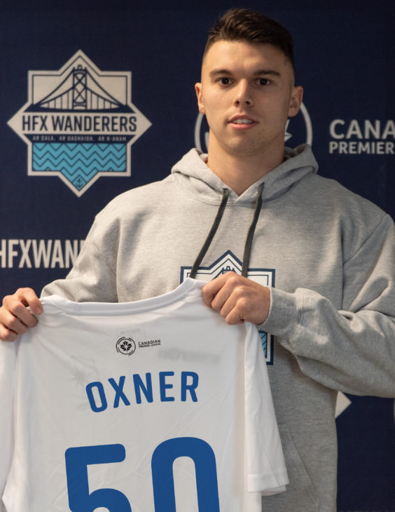 Christian Oxner has been a standout player for local teams Dunbrack, Western Halifax FC and Saint Mary's Huskies.