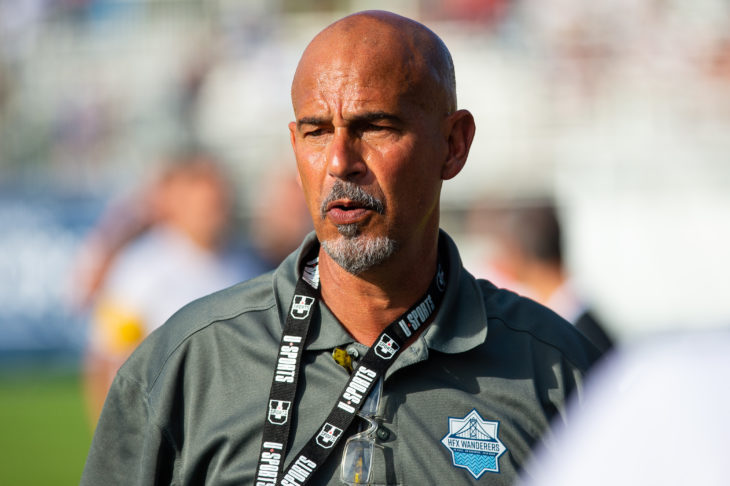 Stephen Hart is getting ready to lead his team into Canadian Premier League Action.