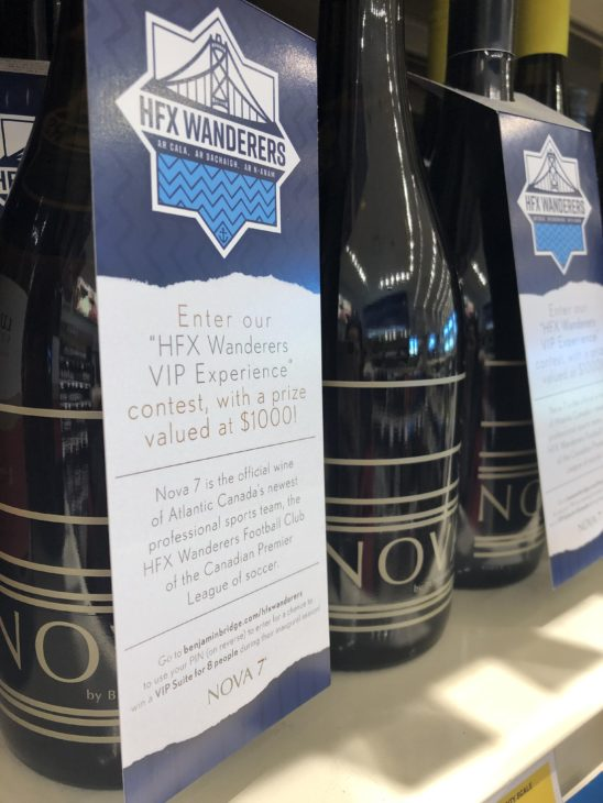 Win a chance to watch the Wanderers in style by buying Nova 7 at any NSLC store in the province in March.