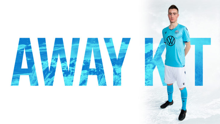 Scott Firth in our away kit.