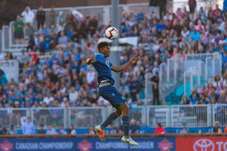 Andre Rampersad has been singled out for praise by his coach Stephen Hart after turning on the style in the past few games. Photo: Trevor MacMillan.