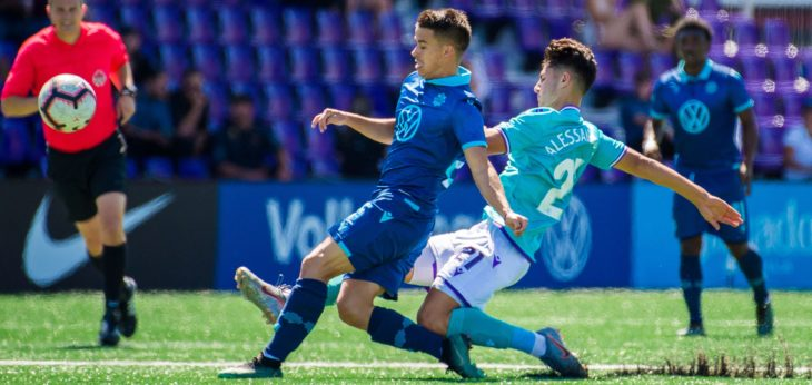 Ottawa-born Zachary Sukunda (shown in action against Pacific) is hoping the Wanderers can pull off an upset against his hometown team in the Canadian Championship.
