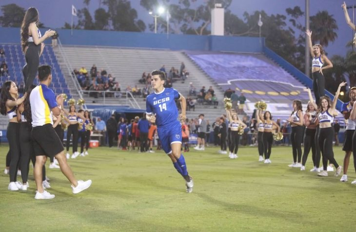 Restrepo describes himself as a defender who likes to get up and down the line and get crosses in. Photo: Felipe Garcia.