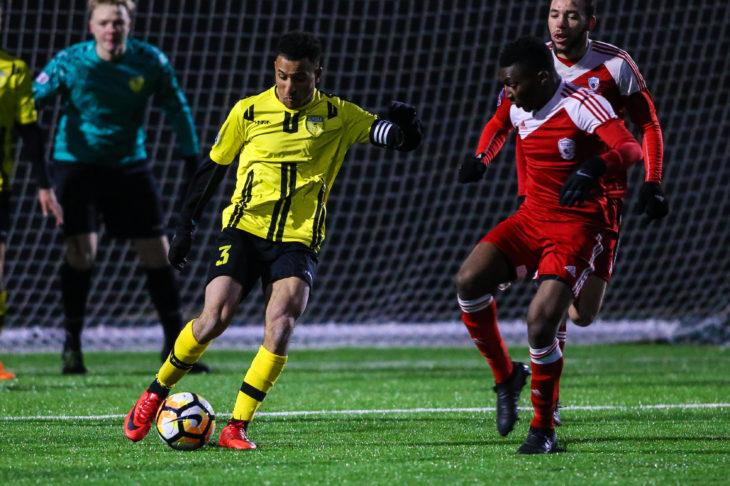 Morey Doner in action for Aurora United.
