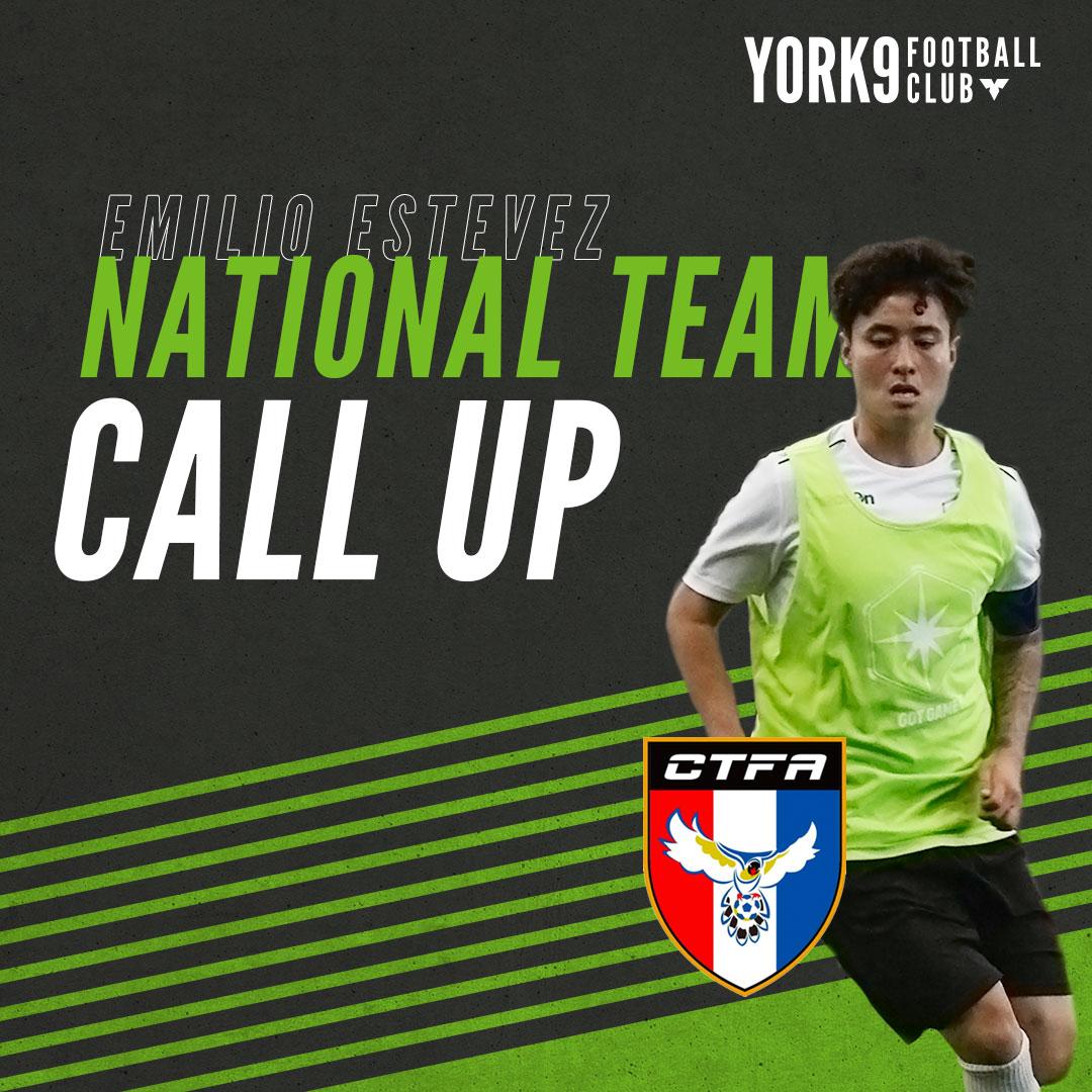 York9's Emilio Estevez called up to Chinese Taipei national team