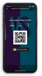 Mobile Ticket
