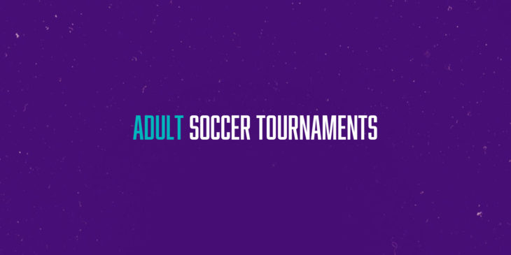 Adult soccer tournaments