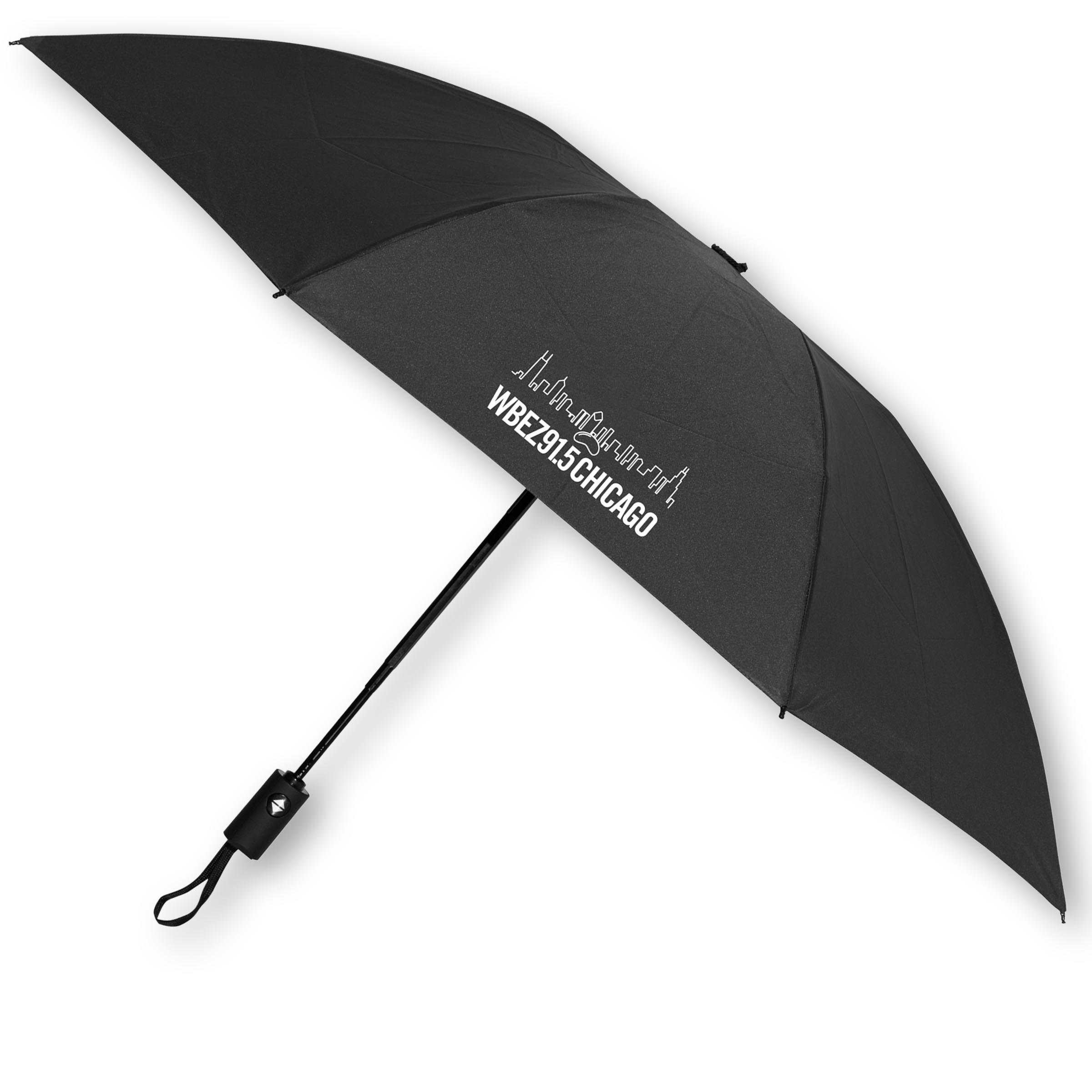 WBEZ Skyline Umbrella Navy