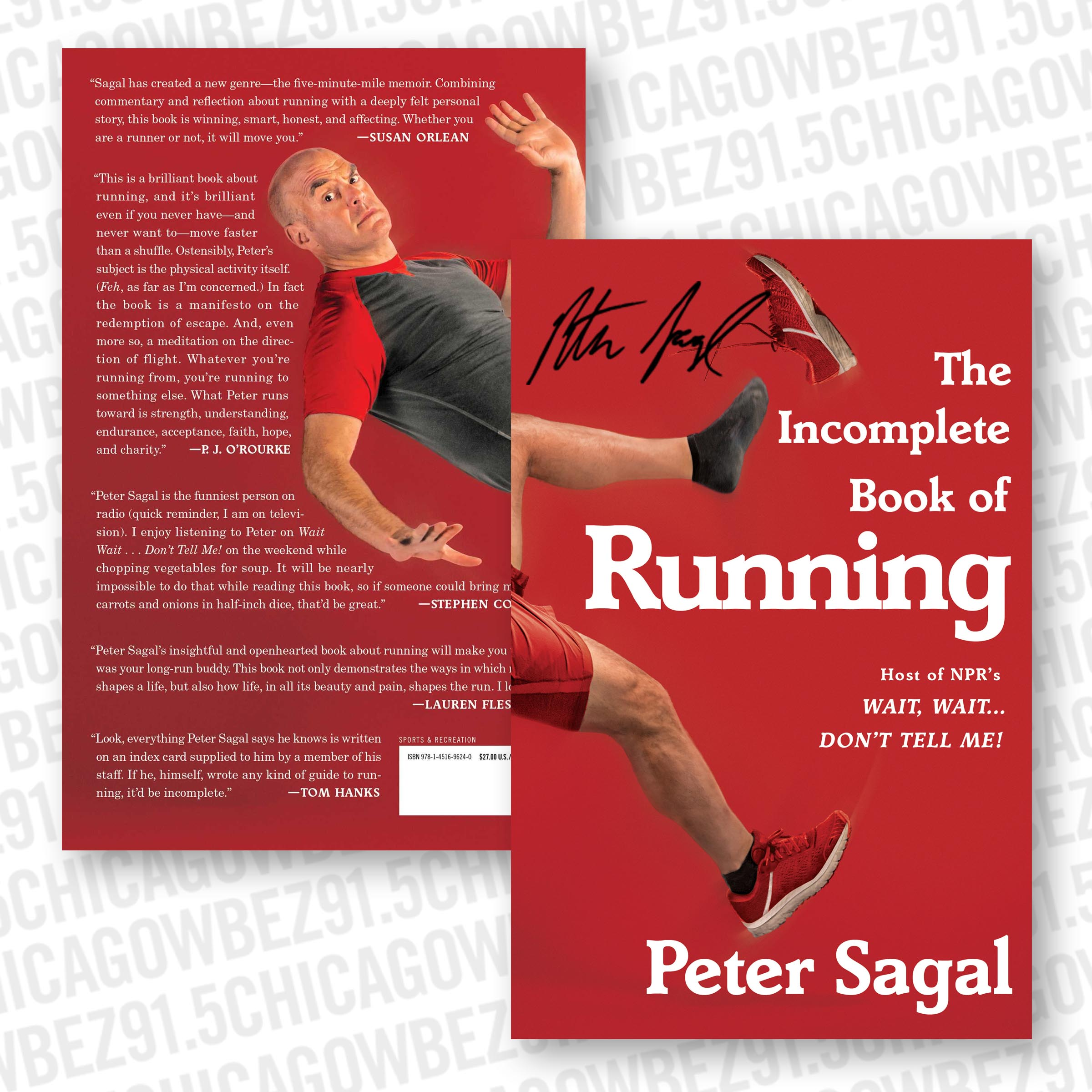 Signed Copy of The Incomplete Book of Running
