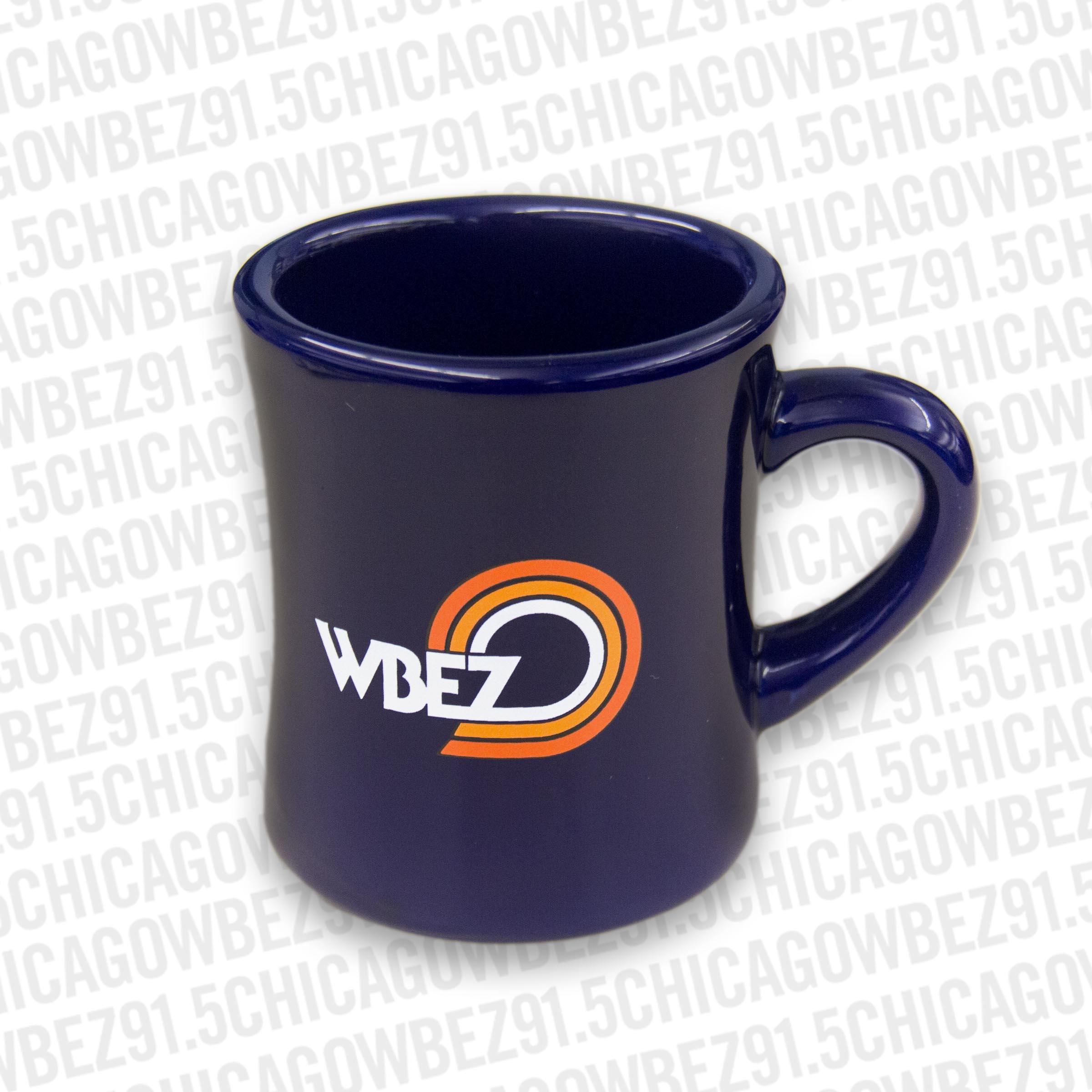 Blue Diner Mug