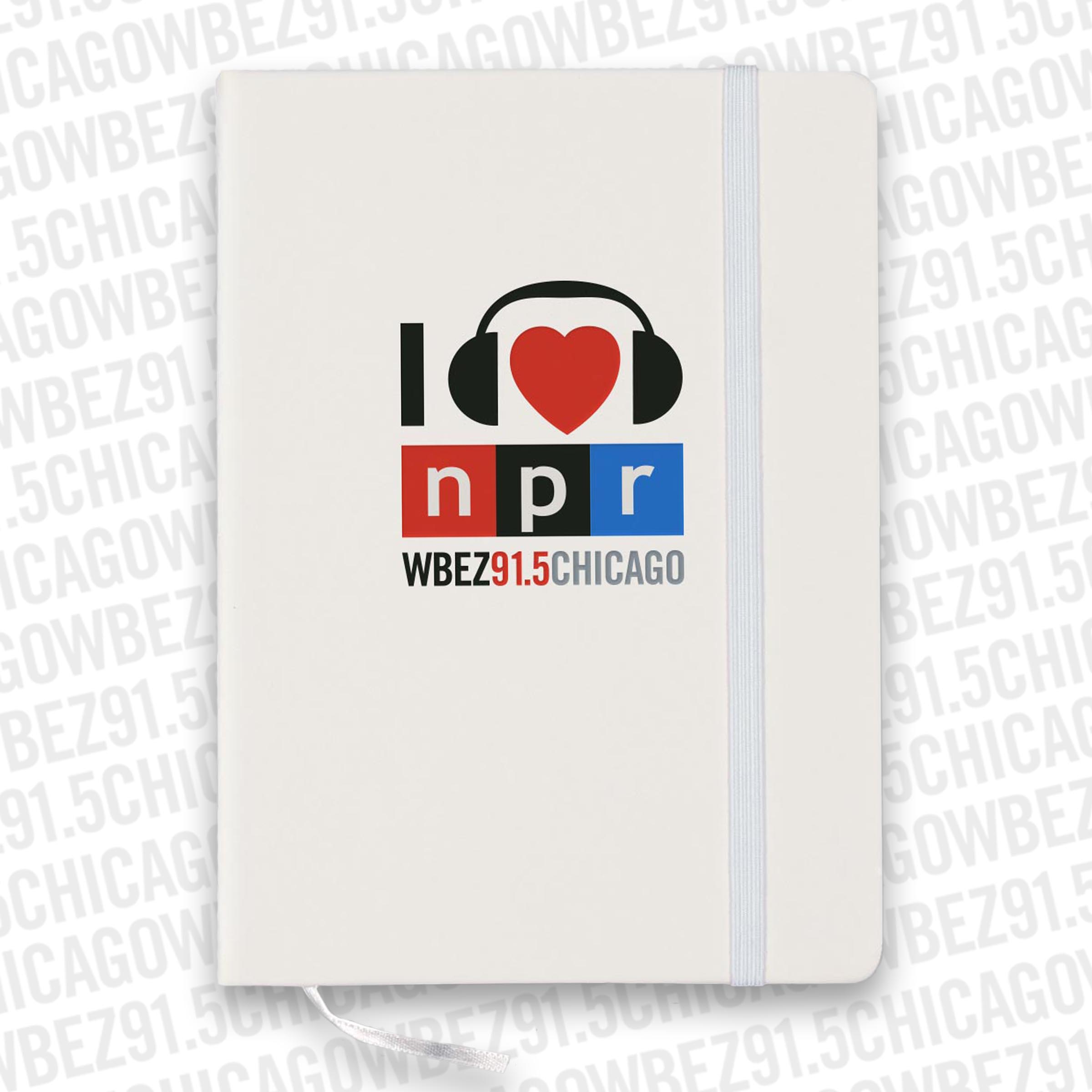 I Heart NPR Notebook