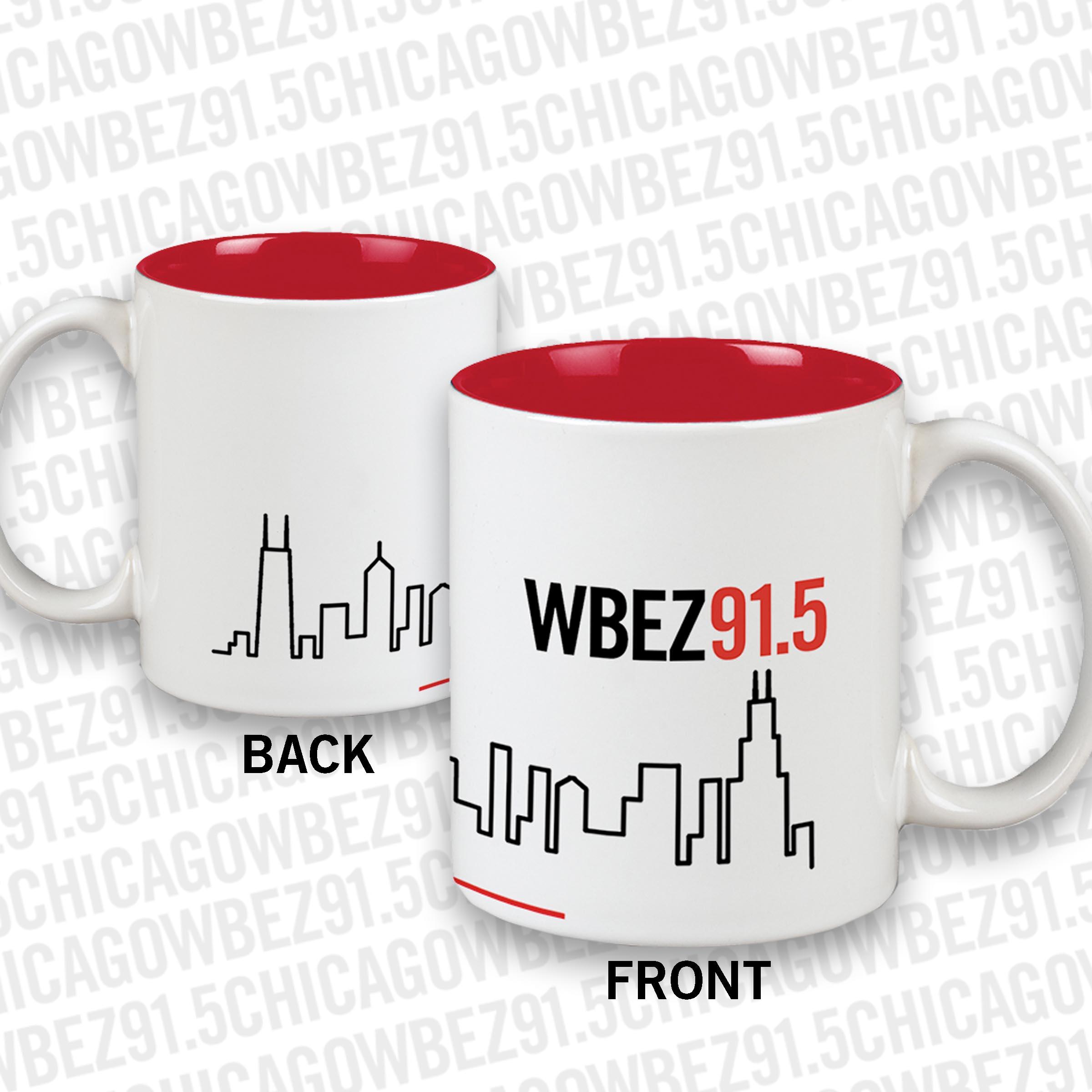 WBEZ Skyline Mug