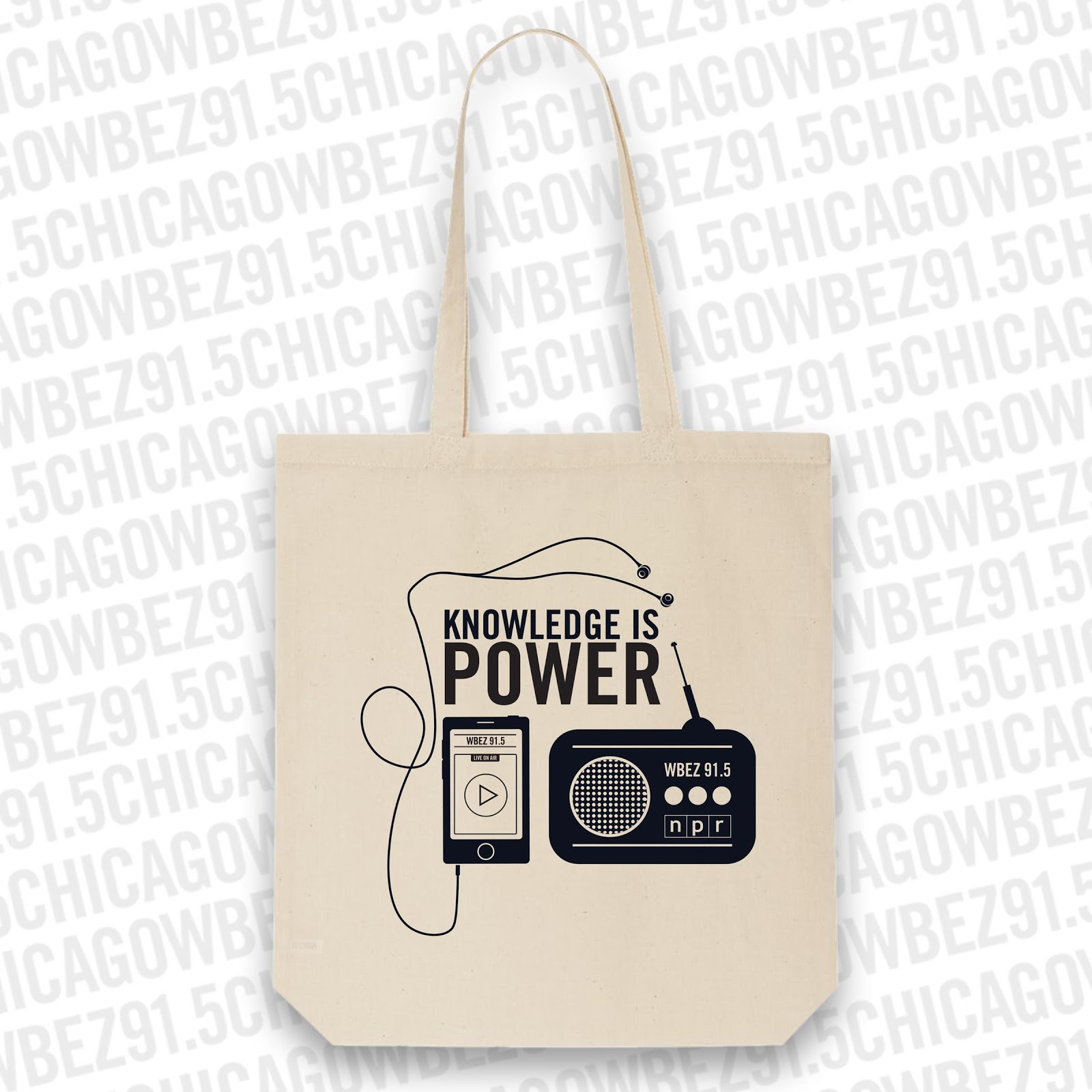 Konwledge is Power Tote