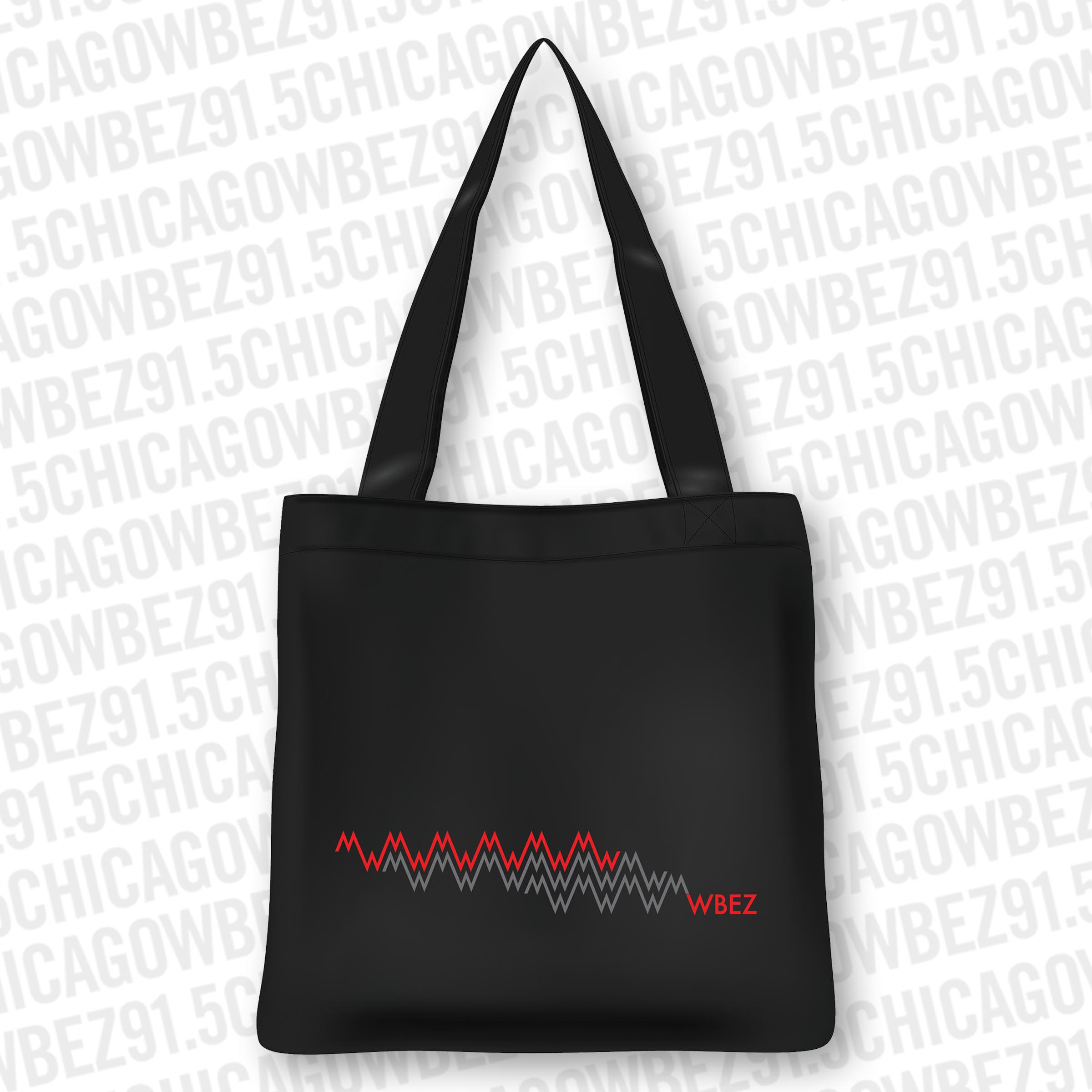 WBEZ Sound Wave Tote
