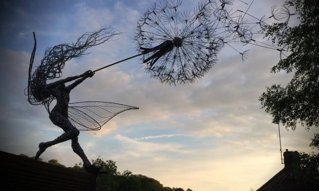 Wire Sculpture Art For Fairy Nerds