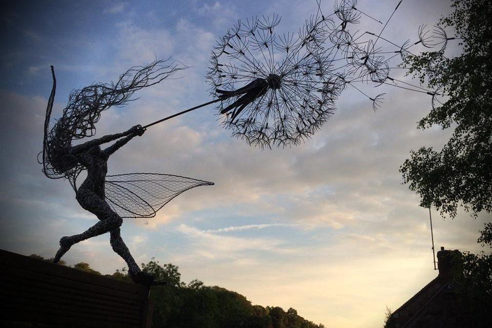 Wire Sculpture Art For Fairy Nerds