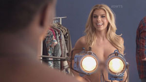 Charlotte McKinney Talks about her Boobs