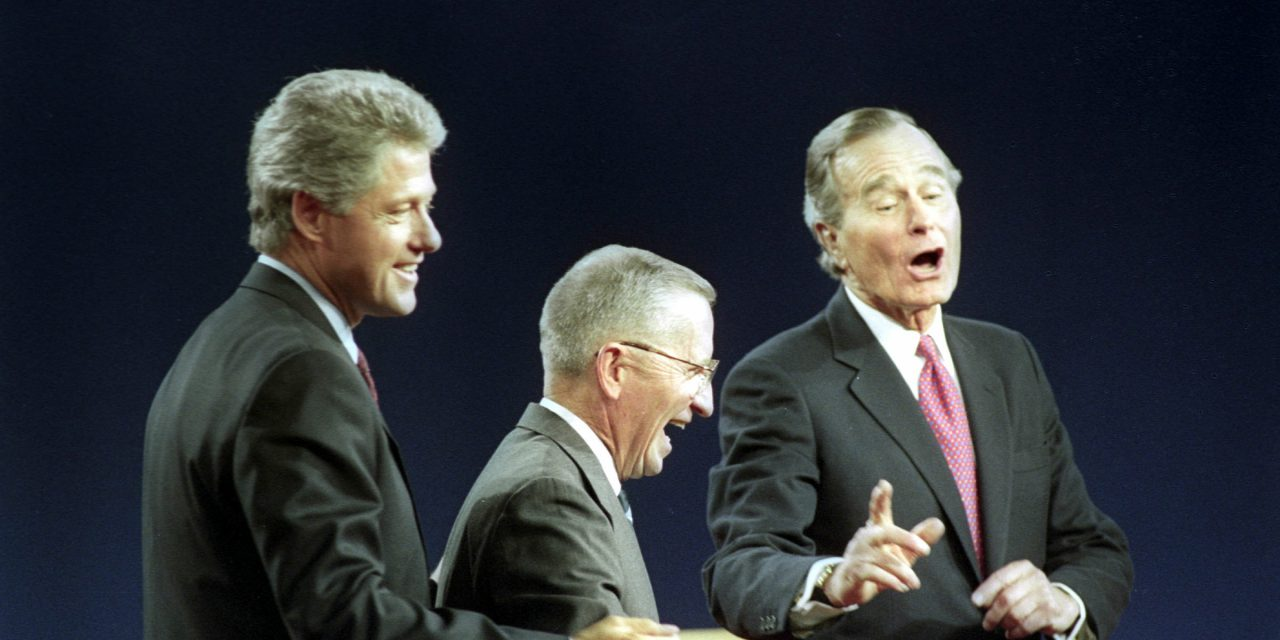 Friday Nineties – Ross Perot was the original Trump