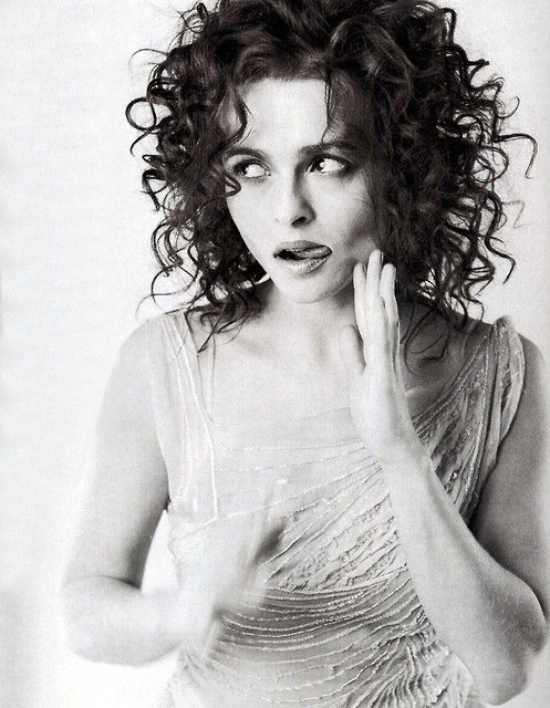 Helena Bonham Carter Tongue