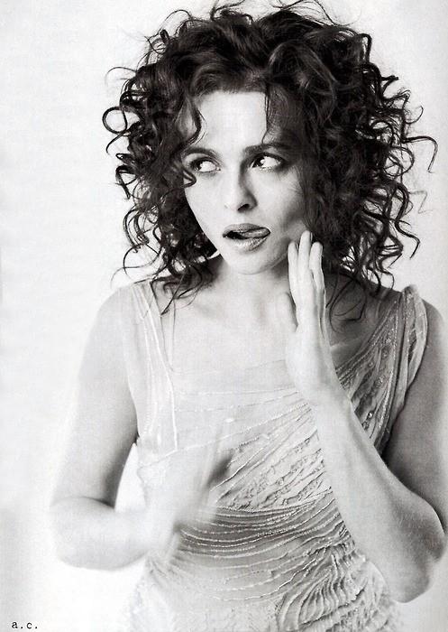 Helena Bonham Carter Tongue