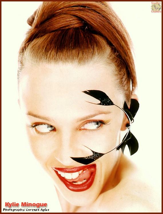 Kylie Minogue Tongue