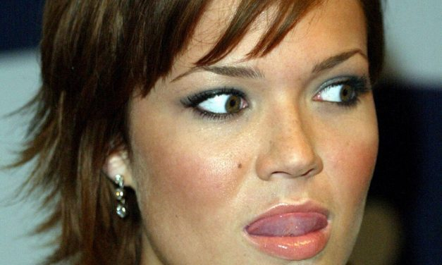Mandy Moore Tongue