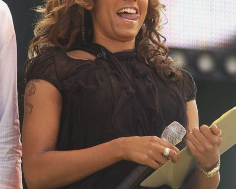 Melanie Brown (Scary Spice) Tongue