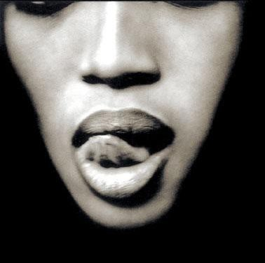 Naomi Campbell Tongue