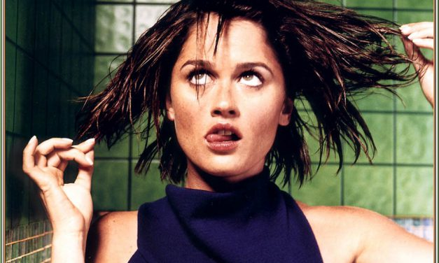 Robin Tunney Tongue