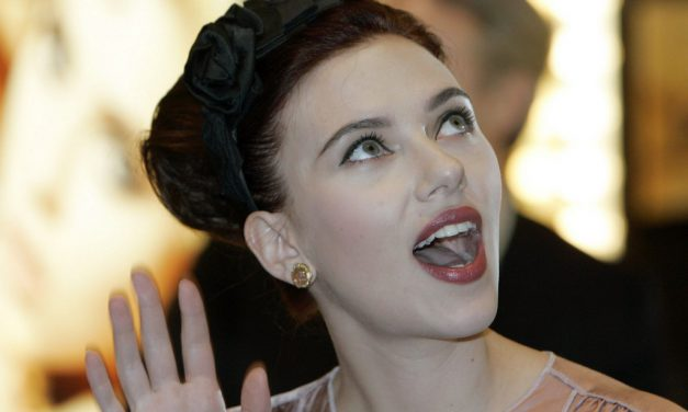 Scarlett Johansson Tongue