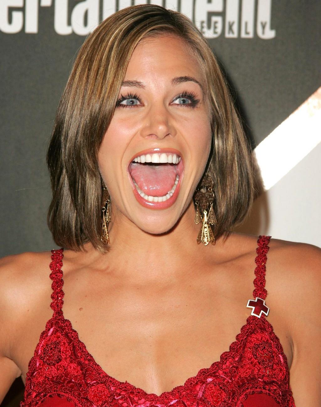 Brooke Burns Tongue