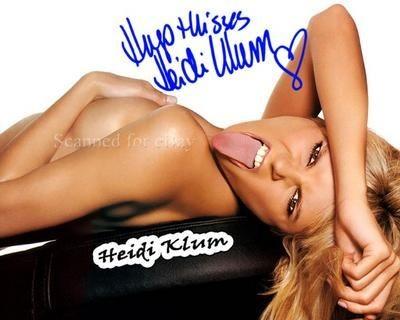 Heidi Klum Tongue