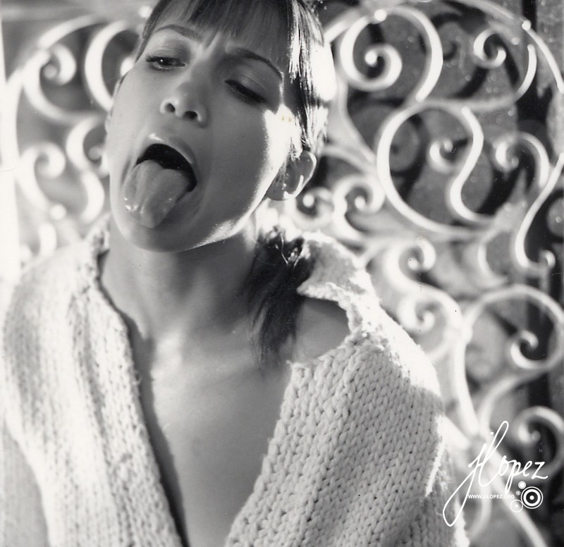 Jennifer Lopez Tongue