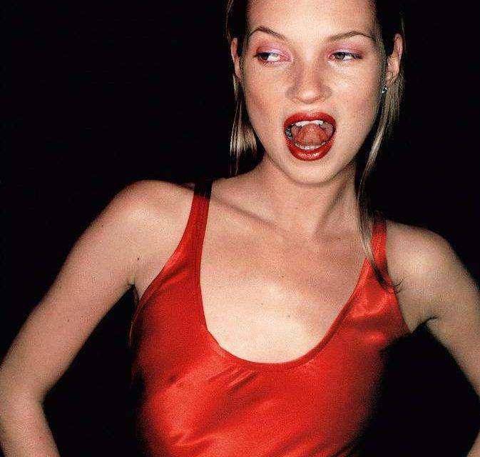 Kate Moss Tongue