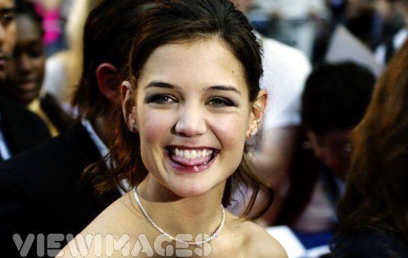Katie Holmes Tongue