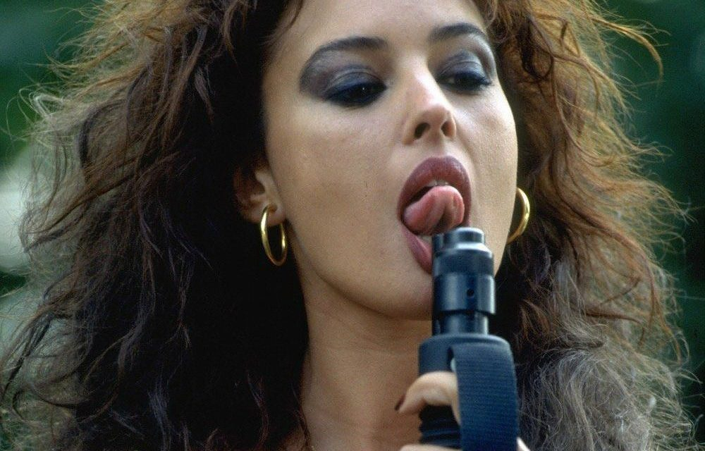 Monica Bellucci Tongue
