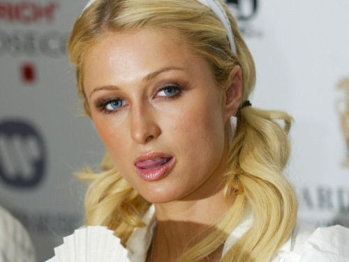 Paris Hilton Tongue