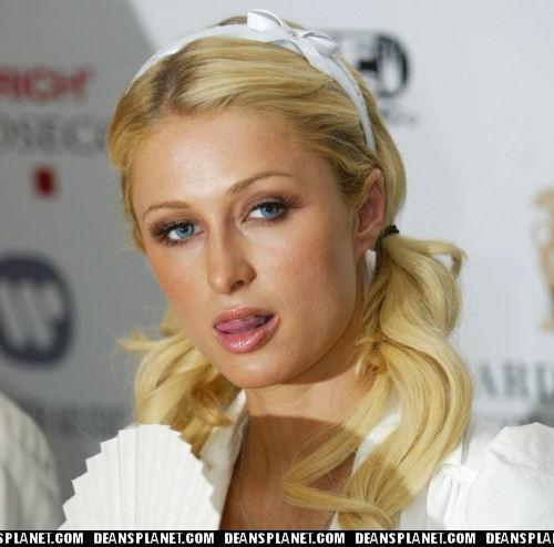 Paris Hilton Tongue