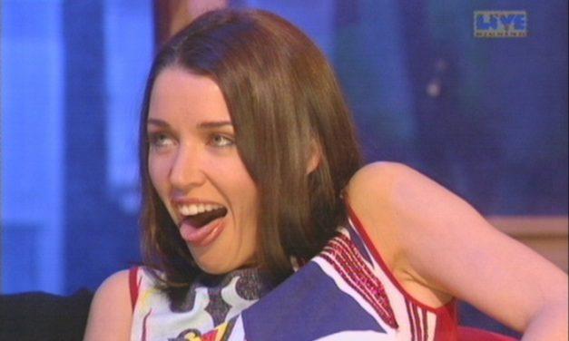 Dannii Minogue Tongue