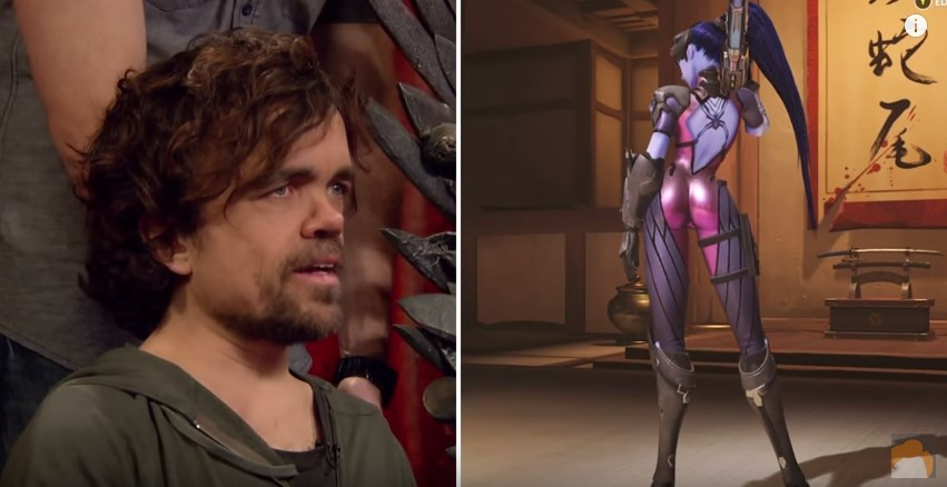 Peter Dinklage and Lena Heady – Clueless Gamer: Overwatch